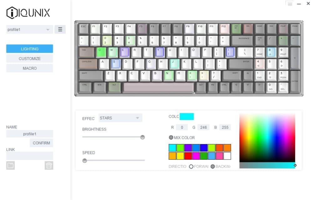 IQUNIX F96 Drive color