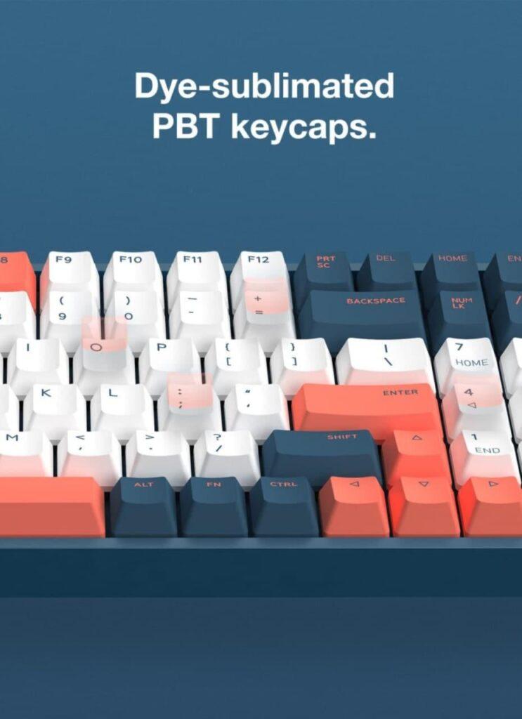 IQUNIX F96 keycaps PBT