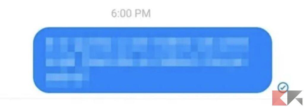 Cerchio blu (contorno) con riempimento grigio e spunta blu
