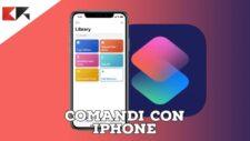App comandi iPhone