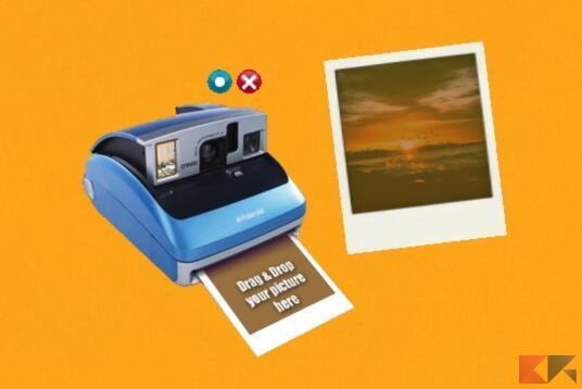 Come fare effetto Polaroid 1
