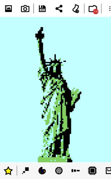 immagini pixel art