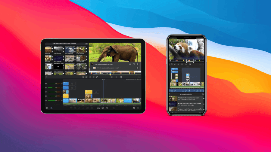 video editor per iPhone e iPad copertina