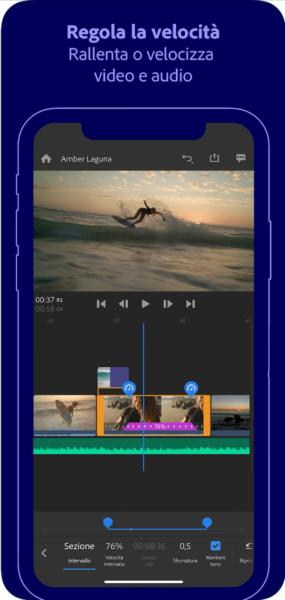 video editor per iPhone e iPad