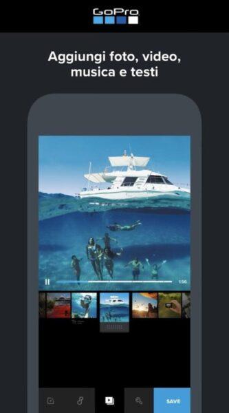 video editor per iPhone e iPad screen9