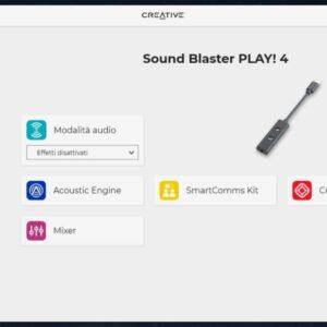 Recensione creative soundblaster play! 4