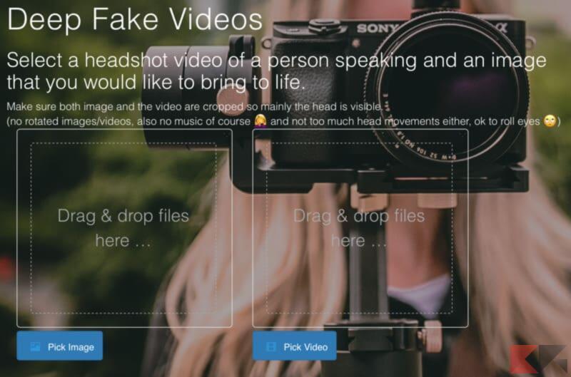 Come creare video falso col mio viso (Deepfake) 2