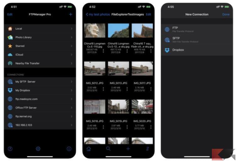 Come accedere alle risorse di rete da iPhone e iPad 1