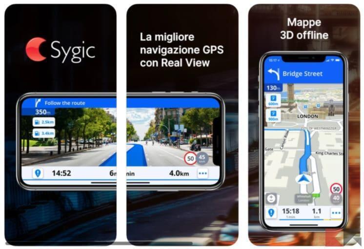 Miglior Navigatore e mappe offline per iPhone 3