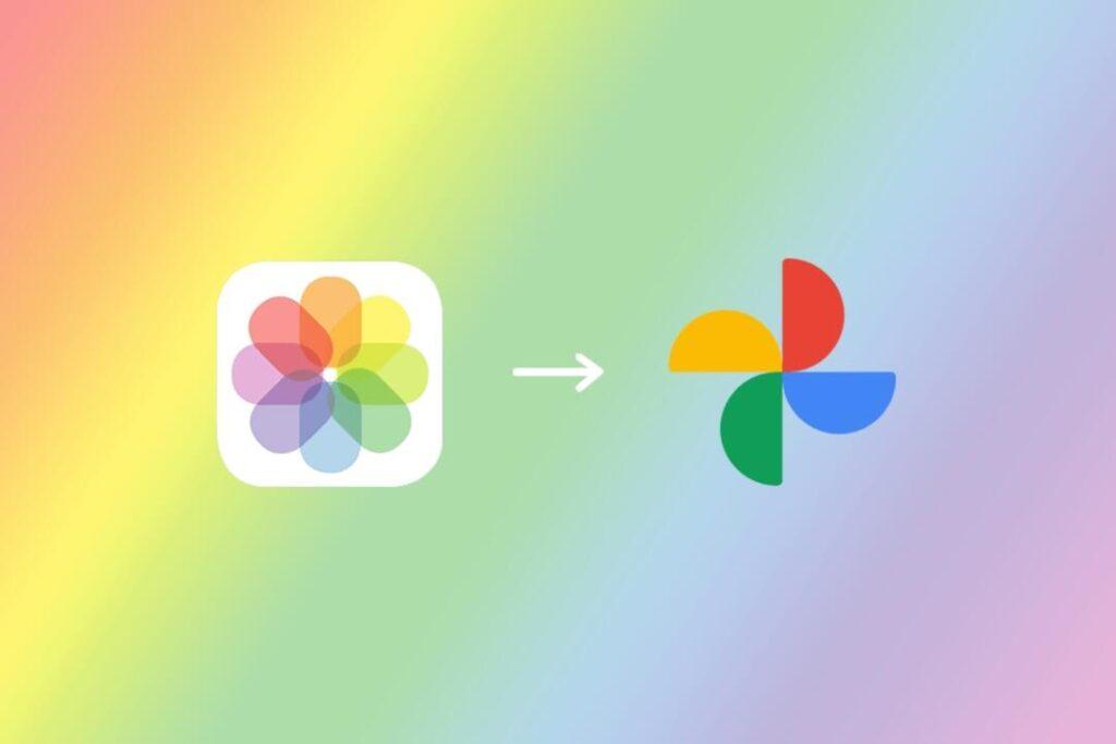 trasferire foto da iCloud a Google Foto