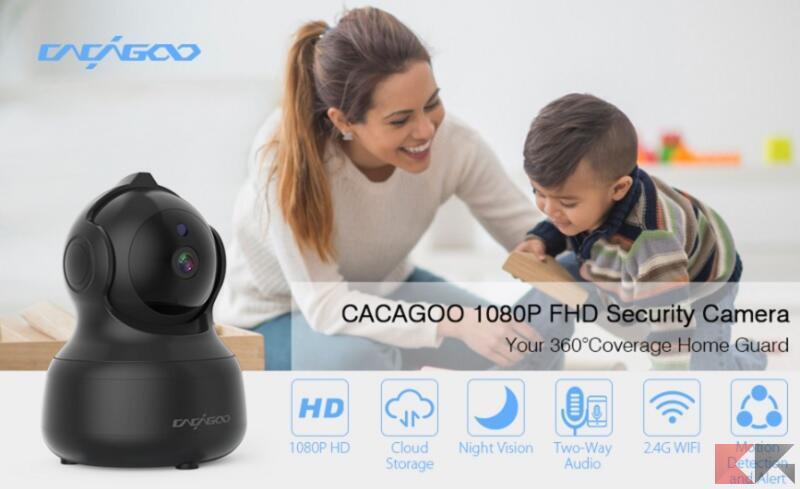 CACAGOO telecamera di sorveglianza 4