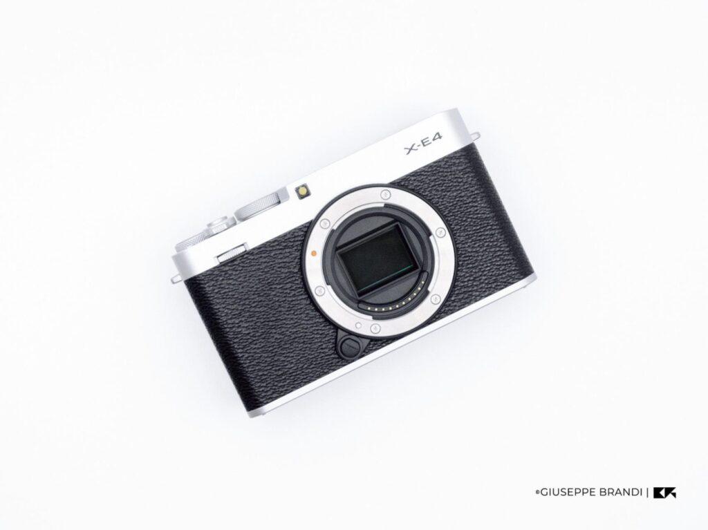Recensione Fujifilm X E4 06
