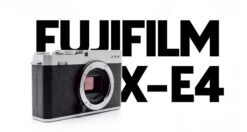 Recensione Fujifilm X-E4