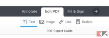 Come modificare PDF su iPhone e iPad 2