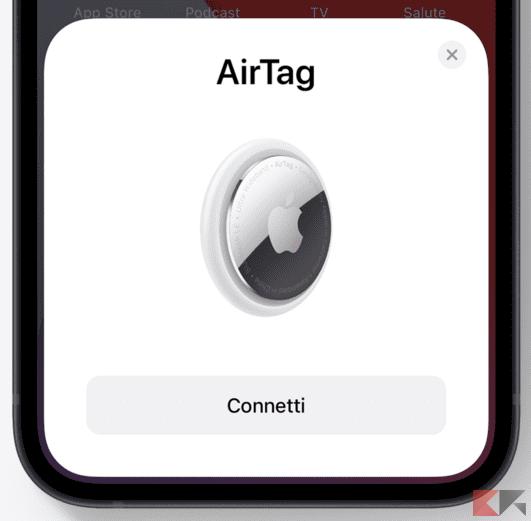 Come si utilizza AirTag