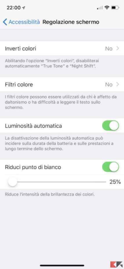 Aumentare la durata batteria iPhone 2