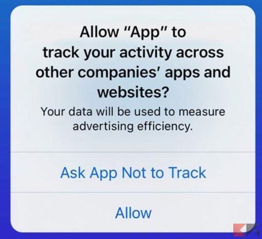 Come impedire alle app di iPhone di tracciarti