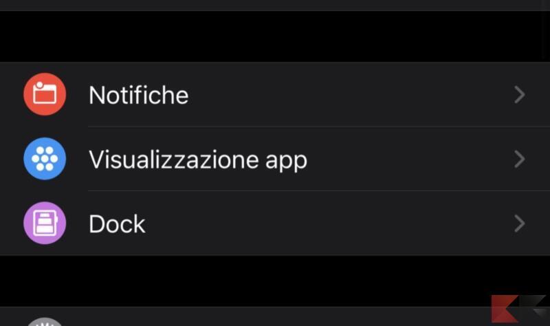 Disabilitare le notifiche delle app
