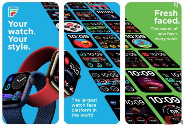 Top 5 app per trovare quadranti Apple Watch 1