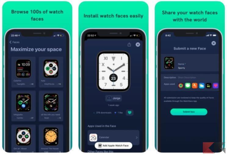 Top 5 app per trovare quadranti Apple Watch 2