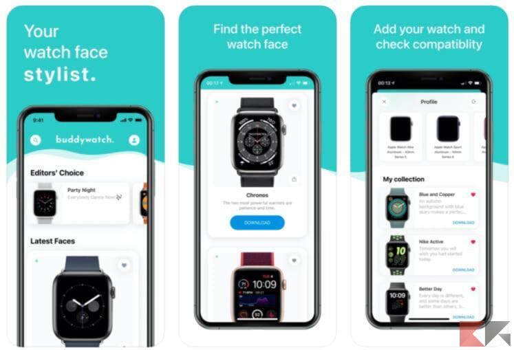 Top 5 app per trovare quadranti Apple Watch 3