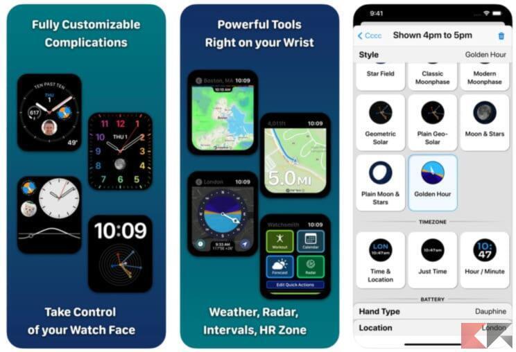 Top 5 app per trovare quadranti Apple Watch 5