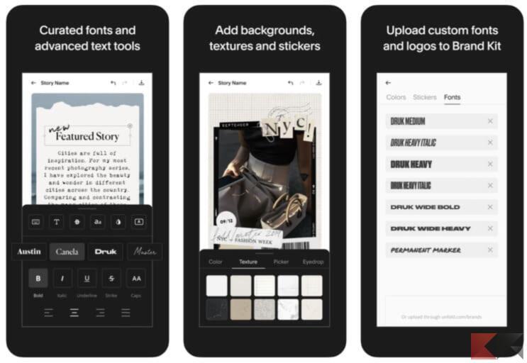 Migliori app per creare storie Instagram stupende 1