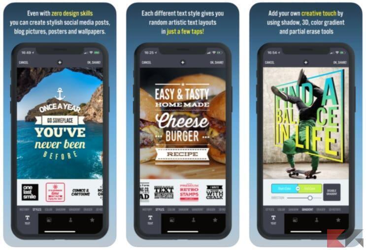 Migliori app per creare storie Instagram stupende 4