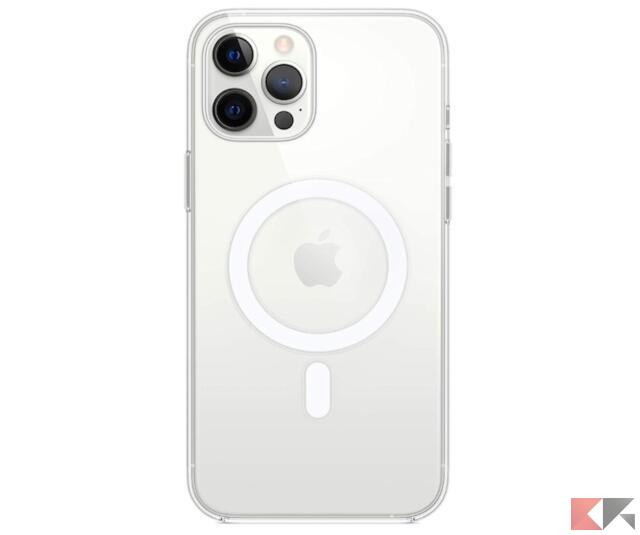 Apple Custodia Trasparente con MagSafe