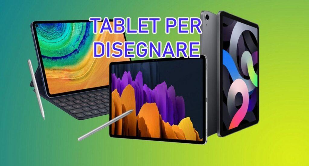 tablet-per-disegnare