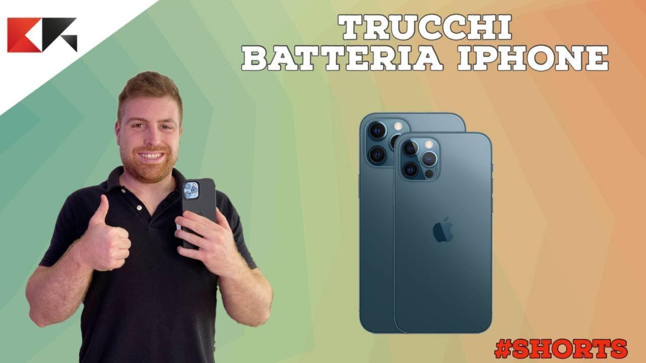 4 super trucchi batteria iphone