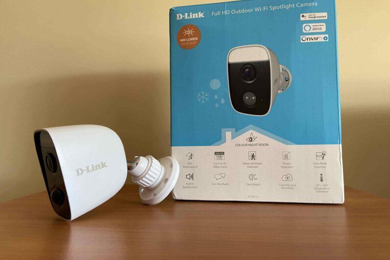 recensione videocamera da esterno D-Link (2)-min