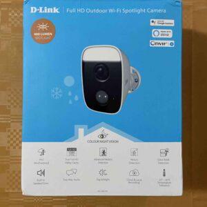 unboxing videocamera d-link 1-min