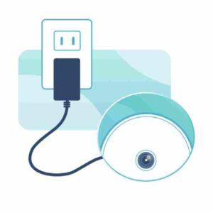 verificare alimentazione videocamera d-link