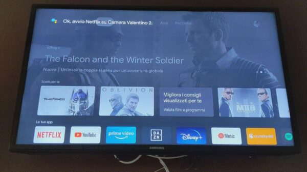 Google Chromecast con Google TV