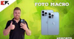 come scattare foto macro con iphone 13