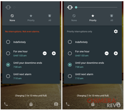 Android 5.1 nuove opzioni volume