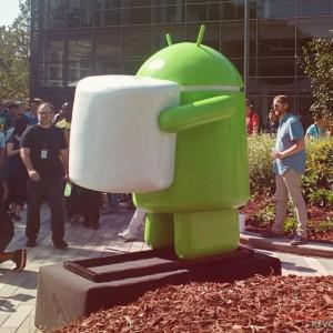 Android Marshmallow statua 2