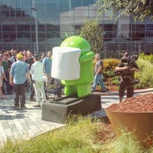 Android Marshmallow statua 3