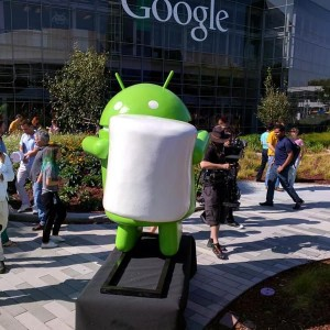 Android Marshmallow statua