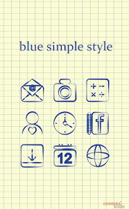 Blue Simple Style Theme