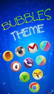Bubbles - Icon Pack