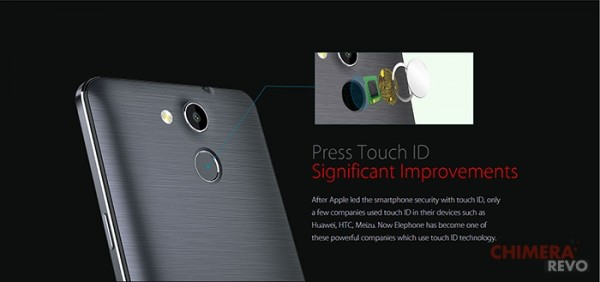 Elephone P7000 - Touch ID