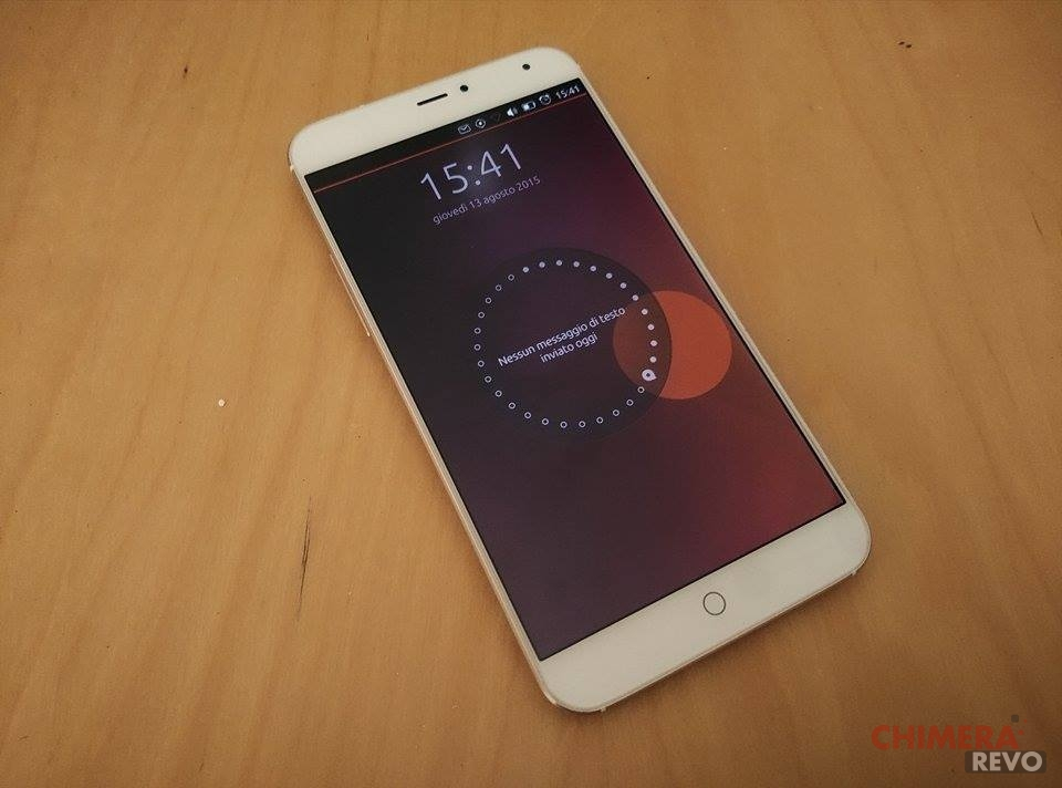 Meizu MX4 Ubuntu Edition 3