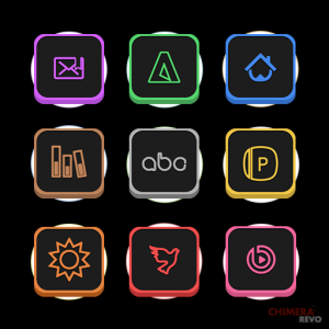 Neons Icon Pack