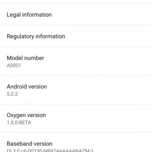 OxygenOS beta settings compressed