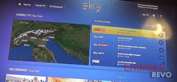 SkyGo su Chromecast