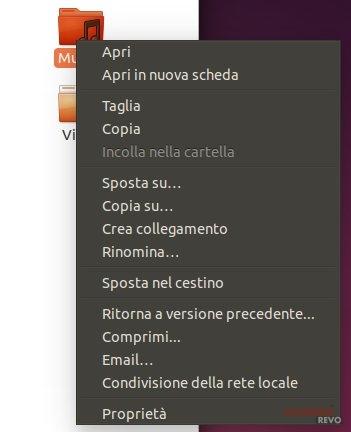 Condivisione cartella ubuntu