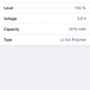 c AIDA64 iOS Battery