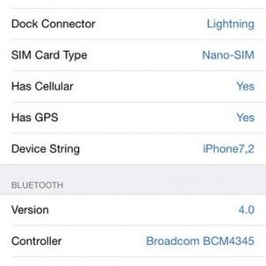 c AIDA64 iOS Device